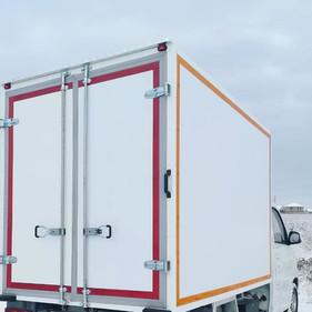 Изготовление изотермического фургона