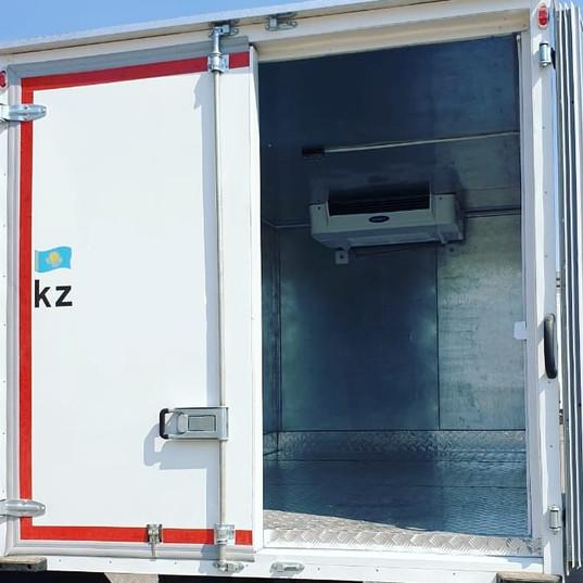 Изотермический фургон, толщина стенок 100 мм, рефрижератор -20...+12.