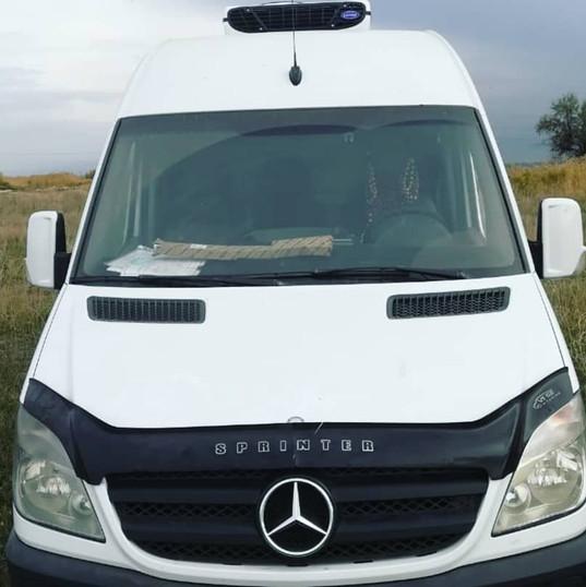Установка рефрижератора на Mercedes Sprinter
