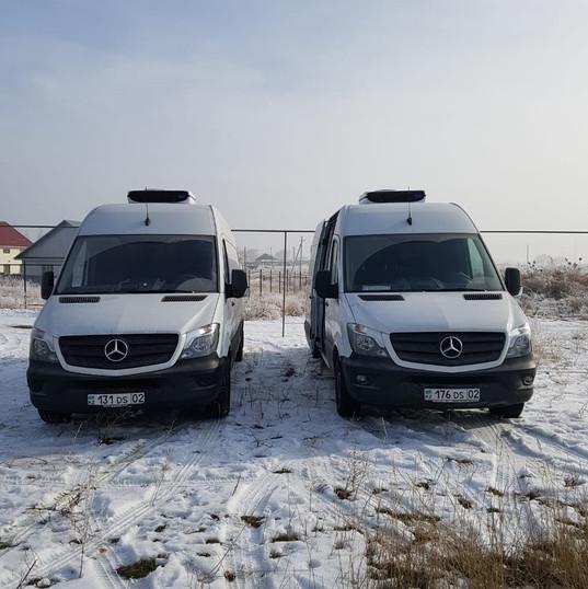 Mercedes Benz Sprinter цельнометаллический кузов
