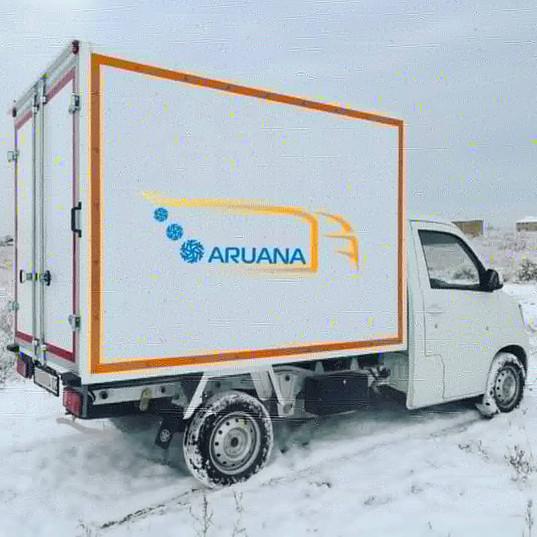Изотермический фургон FAW80