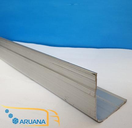 Профиль алюминиевый окантовочный 6 метров