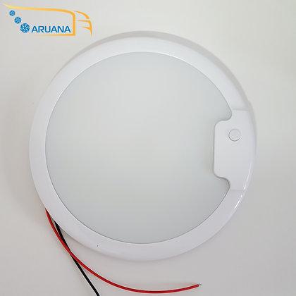 Плафон круглый светодиодный с кнопкой включения