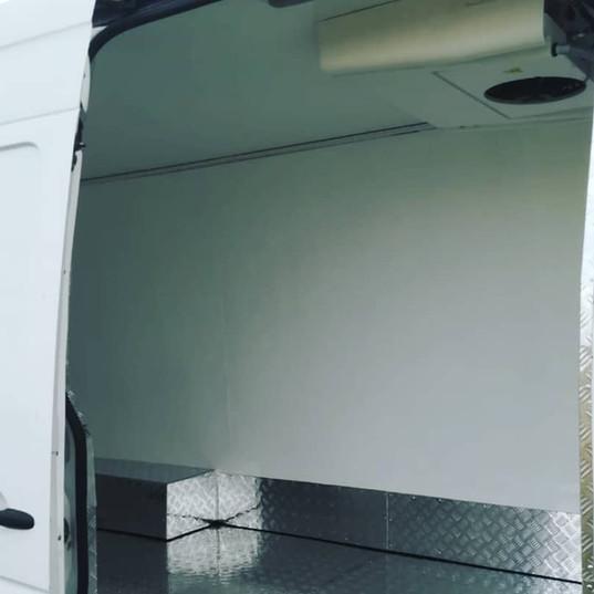 Рефрижератор, утепление и обшивка кузова Mercedes Sprinter