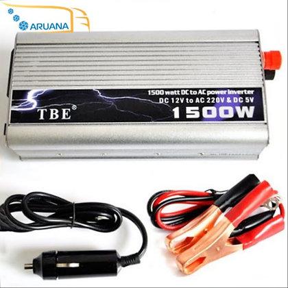 Инвертор преобразователь напряжения TBE 12/24 220 1500W