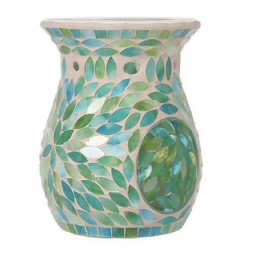 Mint Petals Mosaic Wax Melt Burner