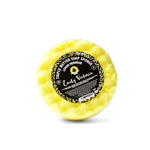 Lemon Meringue Triple Butter Soap Sponge