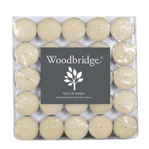 Pack of 50 Unscented Tealights