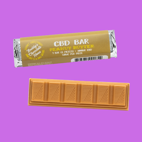 Buddy's Peanut Butter Chocolate Bar - 1 Bar