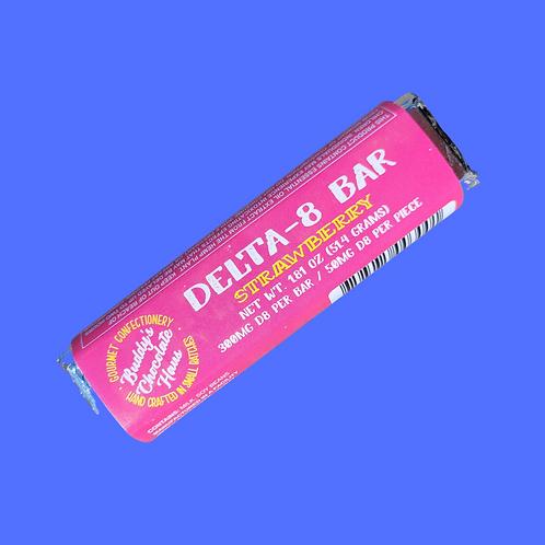 Buddy's DELTA 8 Bar - Strawberry White Chocolate