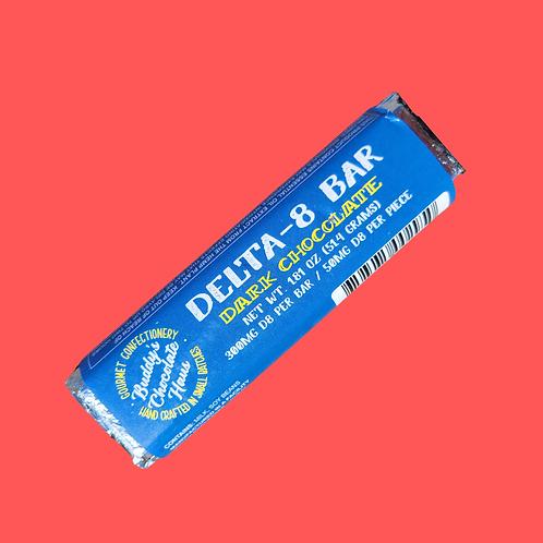 Buddy's DELTA 8 Bar - Dark Chocolate