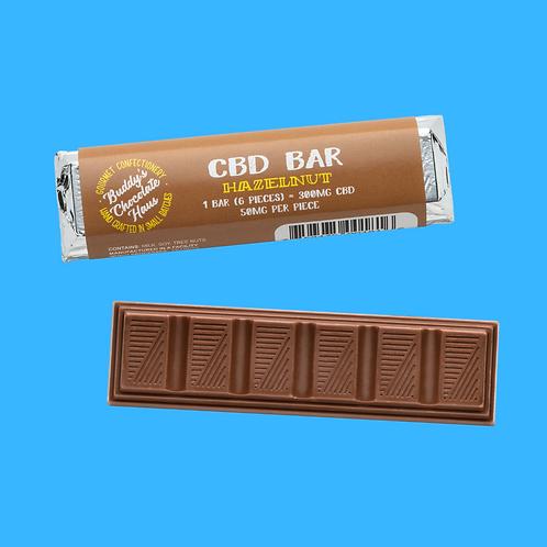 Buddy's CBD 6:1 Bar - Hazelnut Milk Chocolate