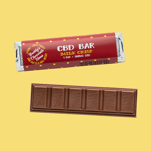 Buddy's Milk Crisp Chocolate Bar - 1 Bar