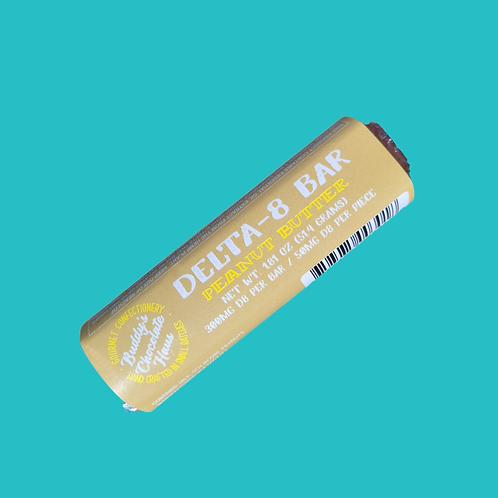 Buddy's DELTA 8 Bar - Peanut Butter White Chocolate