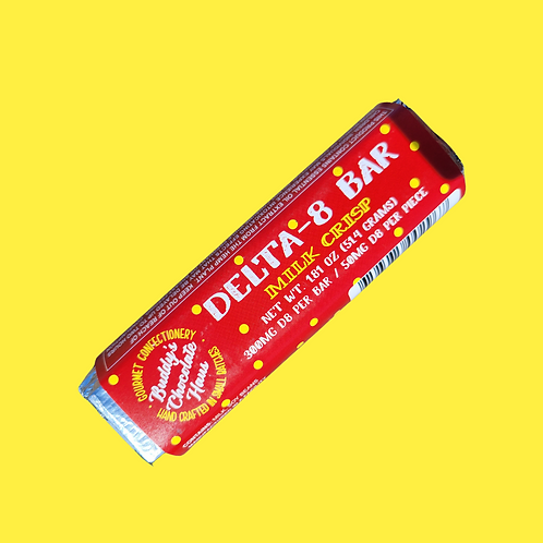 Buddy's DELTA 8 Bar - Milk Crisp Chocolate
