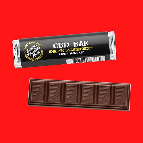 Buddy's Dark Raspberry Chocolate Bar - 1 Bar
