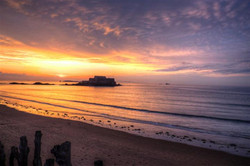 San Malo sunset2 (Small)
