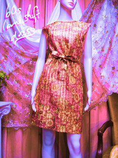 60s Lurex Dress