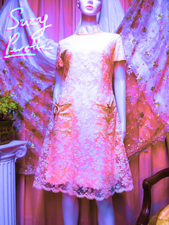 60s Suzy Perette Lace Dress