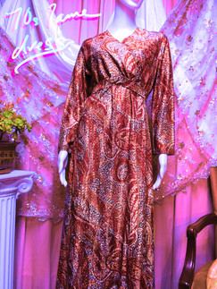 70s Lurex Dress