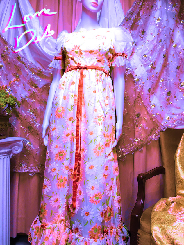 60s Lorrie Deb Sunflower Dress