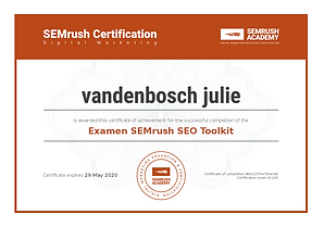 certification semrush academy