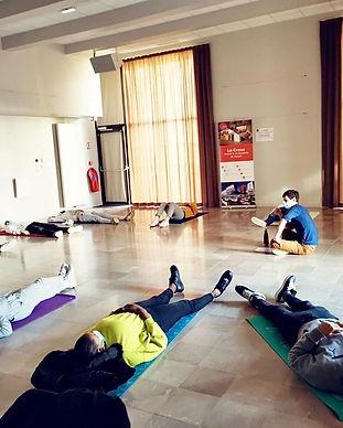 Atelier relaxation Sportifs IUT Caen