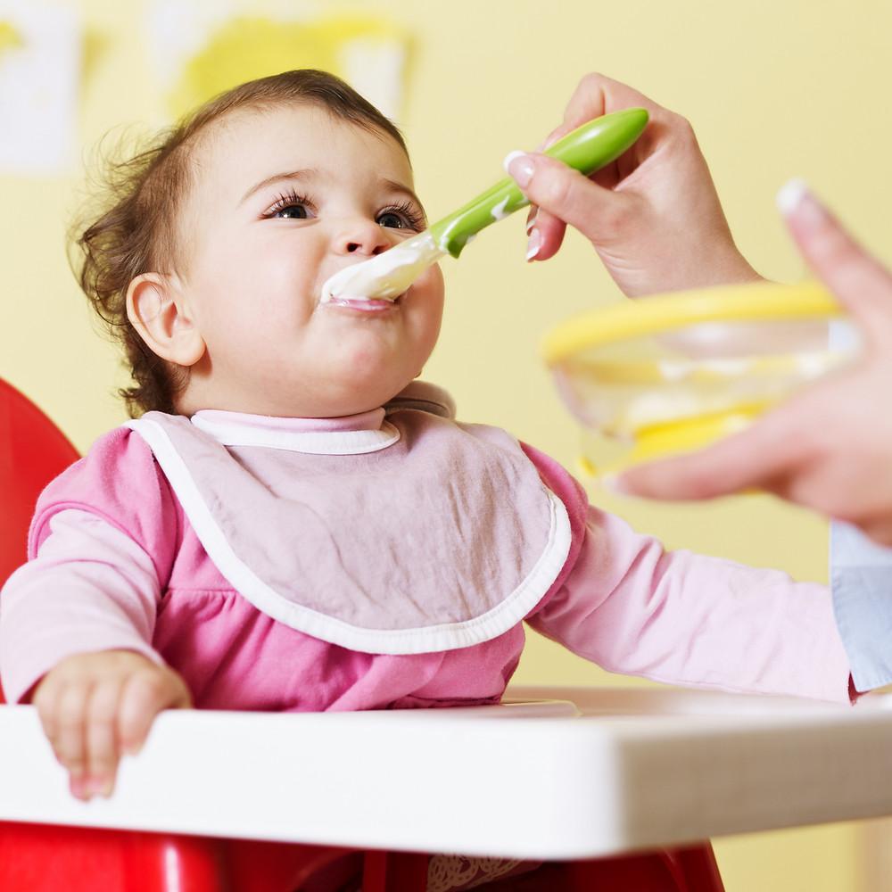 le lait maternel dans la cuisine