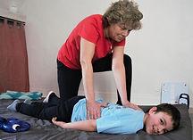 massage pour enfant à besoin particulier