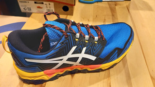 Les chaussures de TRAIL marque ASICS FUJITRABUCO PRONATICE