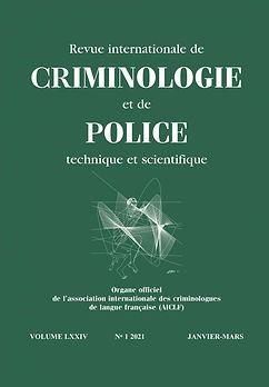 Revue crim police tech et scient