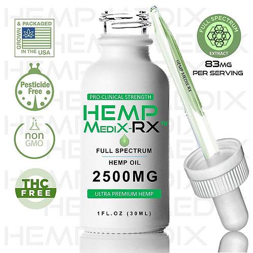 Hemp Medix Rx - 2500mg