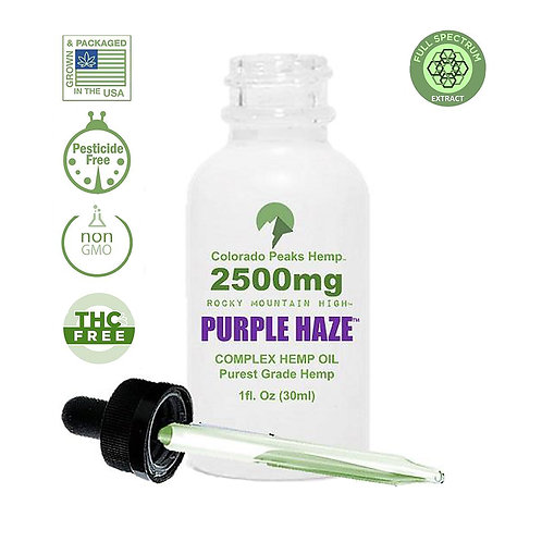 Colorado Peaks Purple Haze - 2500mg