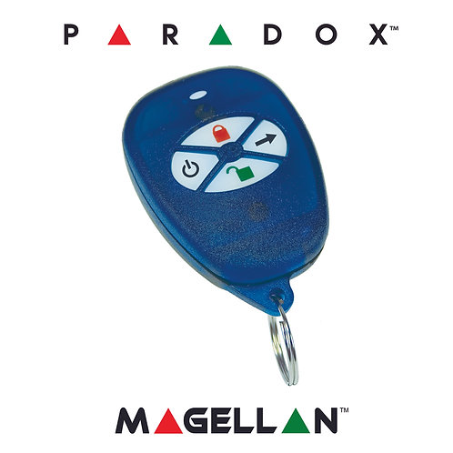 Paradox REM1 - 5 Button Remote Control w/Backlit Buttons (NEW & Genuine) 433MHz