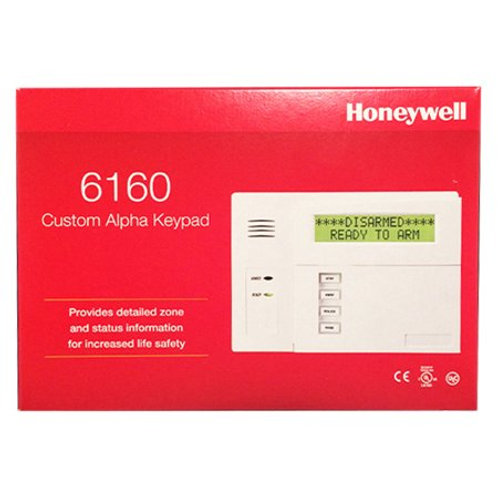 Honeywell / Ademco 6160 Custom Alpha Integrated Keypad (BRAND NEW & SEALED)