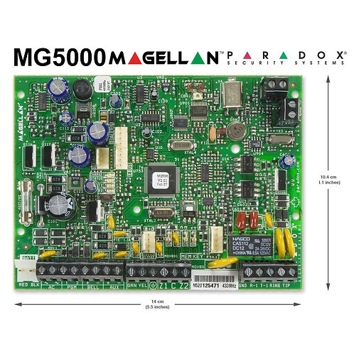 Paradox MG5000 - MAGELLAN 32-Zone Wireless Transceiver Control Panel 433MHz