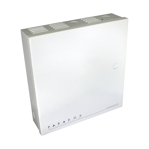 """Paradox 11"""" x 11"""" x 3"""" Metal Enclosure (White)"""