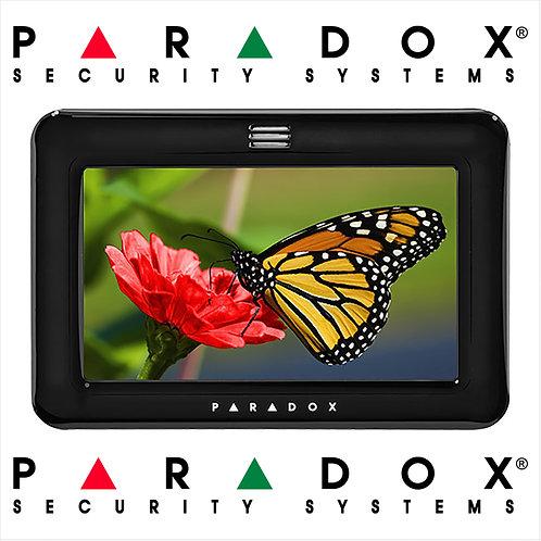 Paradox TM50 Touch Graphic Display Keypad - PIANO BLACK - (FREE Fast Shipping)