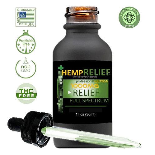 Hemp Medix Hemp Relief - 1000mg