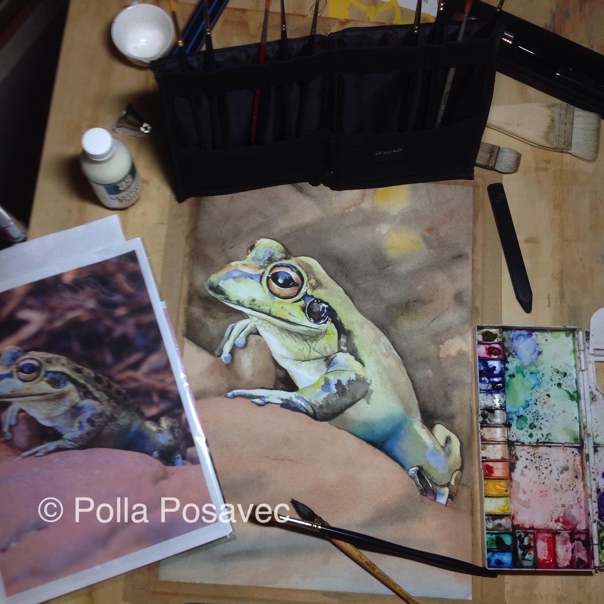 Motorbike frog WIP