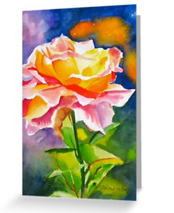 Glowing Rose (card)