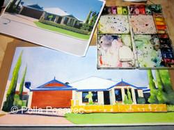 Suburban House WIP