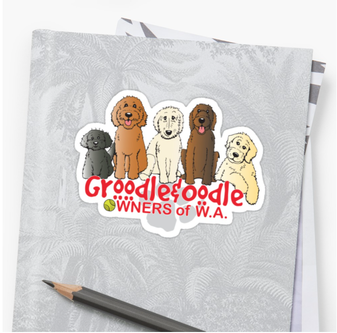 Groodle & Oodle Club (red)