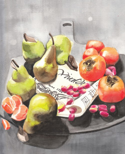Pears & Persimmons