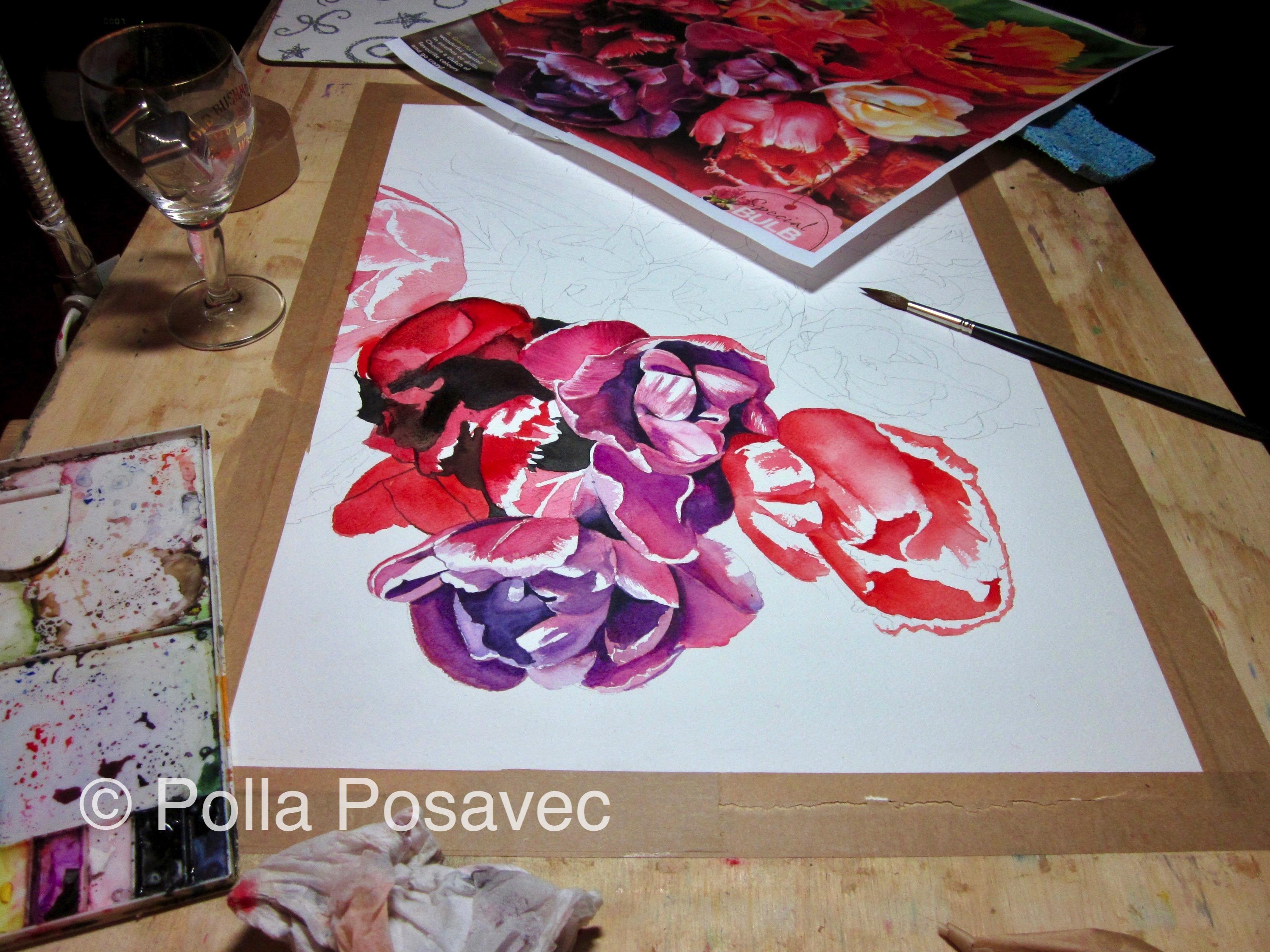 Tulips WIP1