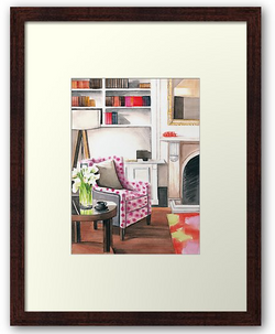 Room With A Bookshelf