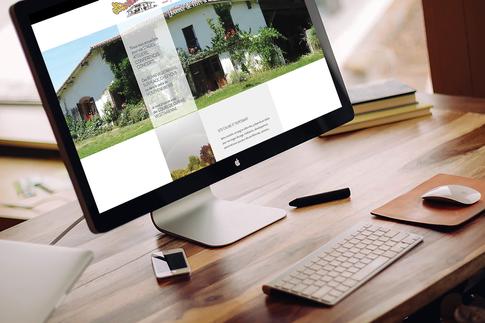 Création site internet : lieu d'accueil pour stages, conférences et repas végétariens sur place ou dans le cadre d'événements