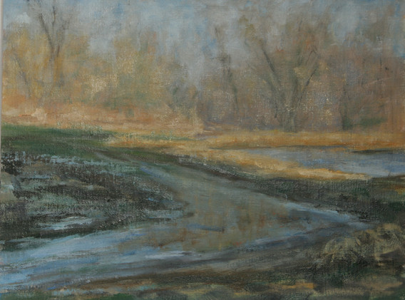 Spring Thaw on River Road
