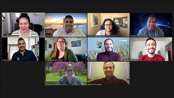 WACUHO 2020-2021 Exec Board Zoom photo