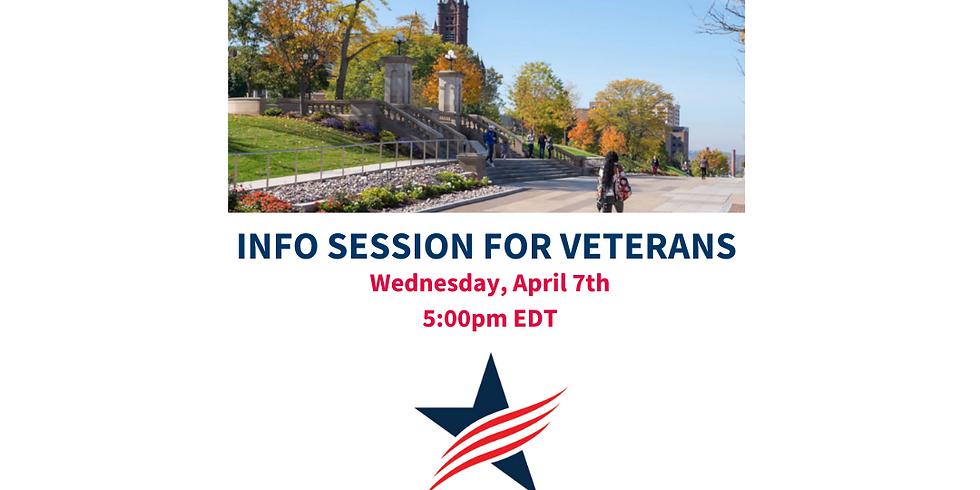 Veteran Info Session at Syracuse University